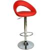 9501Q0116 - Bürocci Larissa Bar Taburesi - Kırmızı Deri