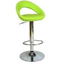 9501Q0110 - Bürocci Larissa Bar Taburesi - Yeşil Deri