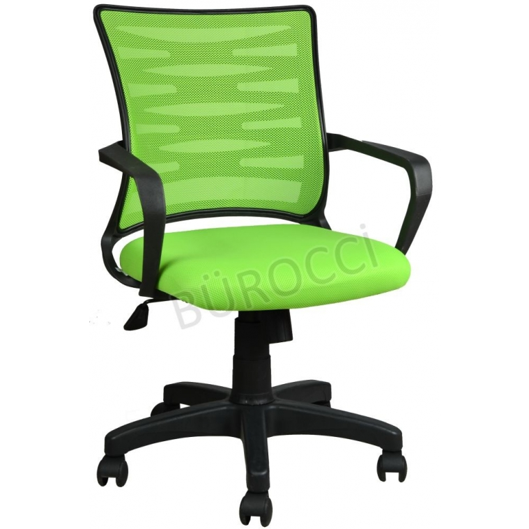 2063B0543 - Bürocci Alisa Plastik Ayaklı Çalışma Koltuğu - Yeşil