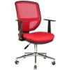 2051A0545 - Bürocci Eva Metal Ayaklı Çalışma Koltuğu - Kırmızı