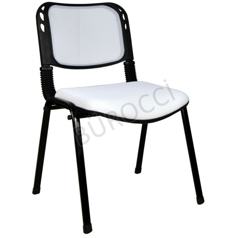 2016R0550 - Bürocci Fileli Form Sandalye - Beyaz