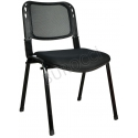 2016R0541 - Bürocci Fileli Form Sandalye - Siyah