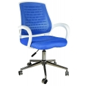 2055G0542 - Bürocci Bella Metal Ayaklı Çalışma Koltuğu - Mavi