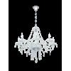 Eglo Basılano 8'Lı Cam Kristal Avize 39101