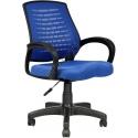 2052F0542 - Bürocci Ergo Plastik Ayaklı Çalışma Koltuğu - Mavi
