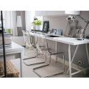 Ofisel çalışma Masa lambası, nikelaj kaplama