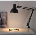 Ofisel çalışma lambası, koyu gri I-20