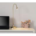 Ofisel LED'li çalışma lambası, altın rengi