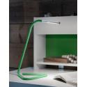 Ofisel LED'li çalışma lambası, yeşil-lame