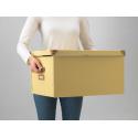 Ofisel kapaklı kutu, sarı