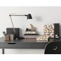 Ofisel kalemlik, siyah-çok renkli