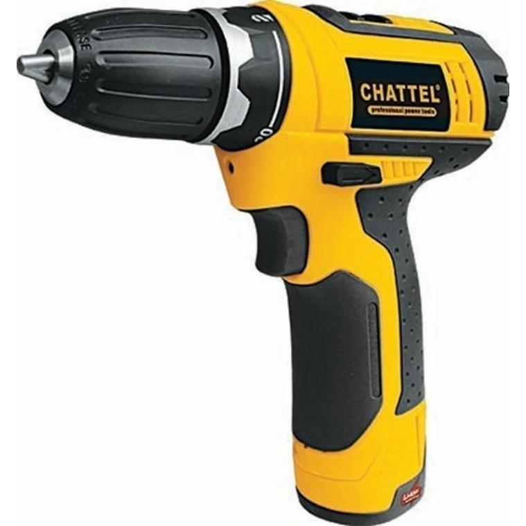 Chattel cht 4108 li akülü şarjlı vidalama 10.8 v lion akülü