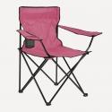 Katlanır Kamp Sandalyesi Bordo