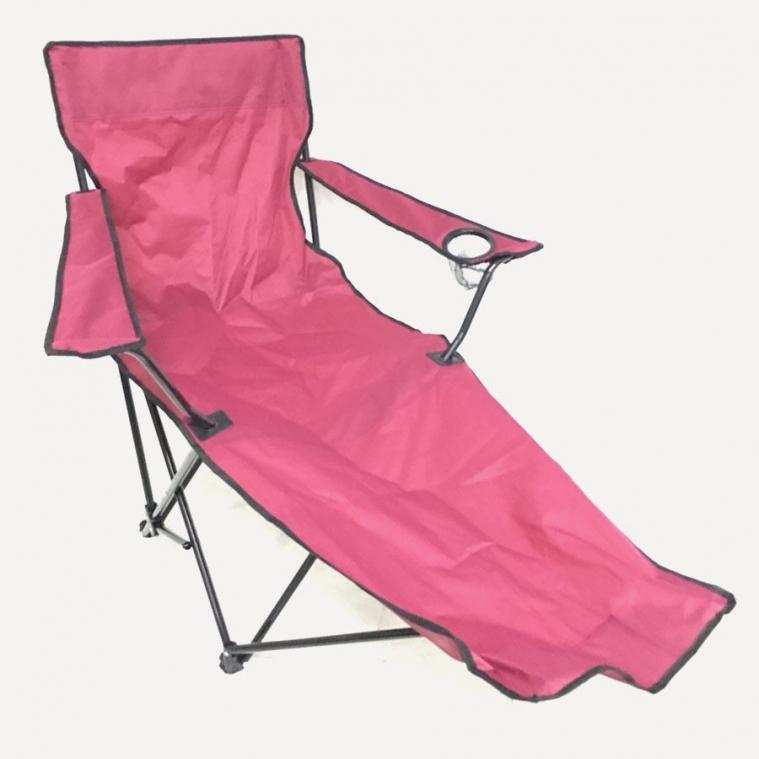 Katlanır Ayaklı Kamp Sandalyesi Bordo