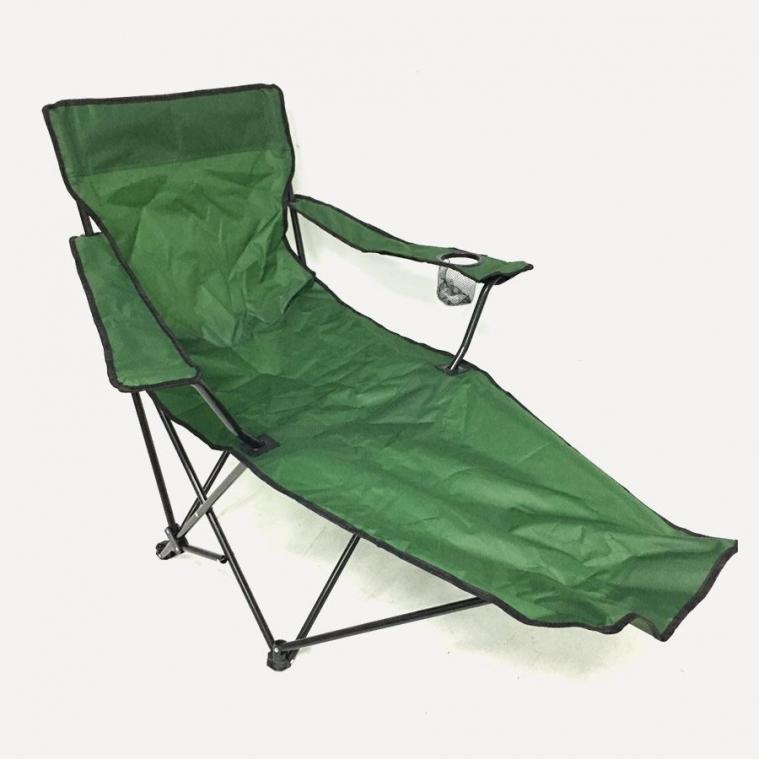 Katlanır Ayaklı Kamp Sandalyesi Yeşil
