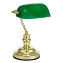 Yeşil Camlı Masa Lambası