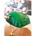 Banker Masa Lambası Yeşil Cam C-45