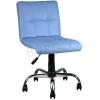 9503F0119 - Bürocci Carla Çalışma Koltuğu-Mavi Deri