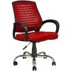 2052G0545 - Bürocci Ergo Metal Ayaklı Çalışma Koltuğu - Kırmızı