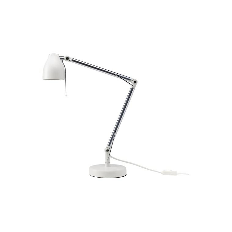 TRAL çalışma lambası, beyaz