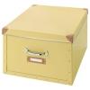 FJALLA kapaklı kutu, sarı