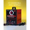 SOYBERG Çanta Kaynak Makinası 250 Amper (5 Kademeli Akü Şarjlı)