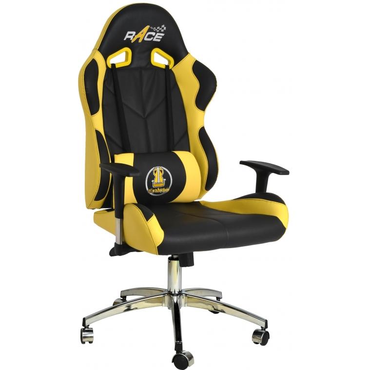 Comodo Oyuncu Koltuğu - Sarı Deri - 1502A0113