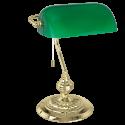 Masa Lambası Efsane Yeşil Camlı Banker Lamba