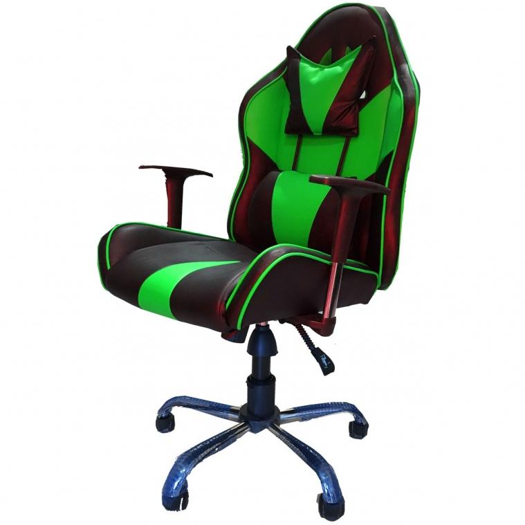 Ofisel Yeni Nesil Oyuncu Koltuğu Yeşil 2555Y