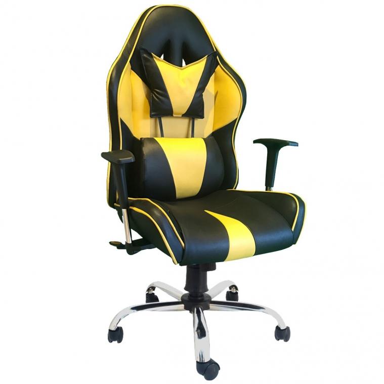 Ofisel Yeni Nesil Oyuncu Koltuğu Sarı 2555S
