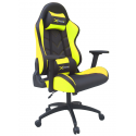 XPrime One Oyuncu Koltuğu Sarı 7555S