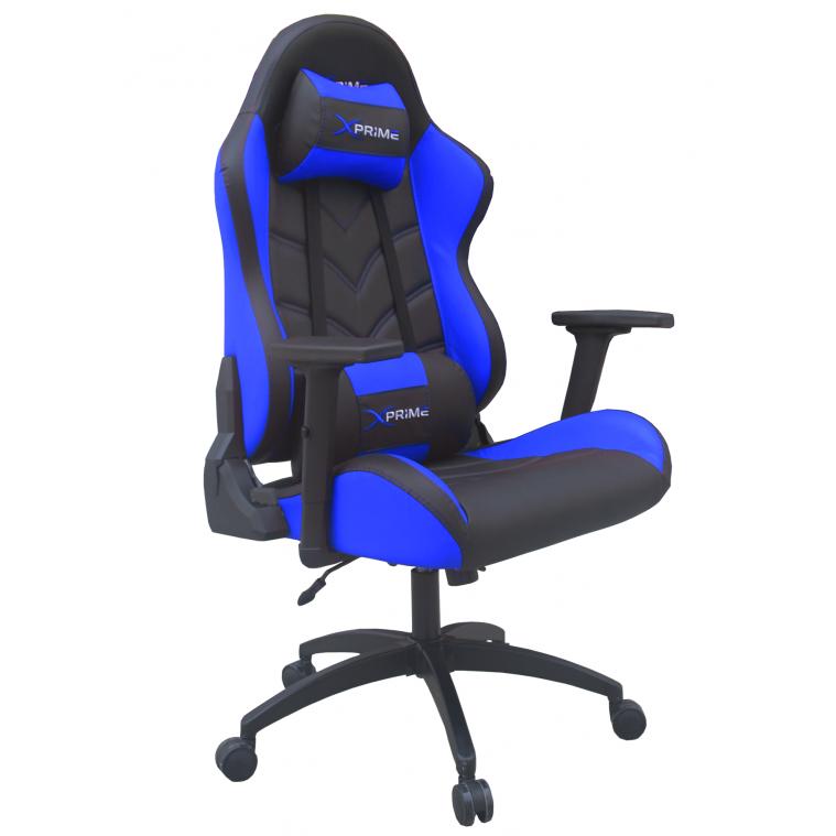 XPrime One Oyuncu Koltuğu Mavi 7555M