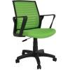 Bürocci Likya Plastik Ayaklı Çalışma Koltuğu-Yeşil File-2284L0543
