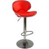 Boombar Goa Bar Sandalyesi - Kırmızı Deri - 9545S0116