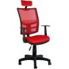 Bürocci Olivia Başlıklı Çalışma Koltuğu-Kırmızı File - 2187C0545