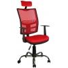 Bürocci Olivia Başlıklı Çalışma Koltuğu-Kırmızı File - 2187A0545
