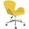 Bürocci Roberta Metal Ayaklı Çalışma Koltuğu-Sarı Deri - 2069A0113