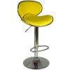 Boombar Goa Bar Sandalyesi - Sarı Deri - 9545S0113