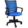 Bürocci Alisa Plastik Ayaklı Çalışma Koltuğu - Mavi - 2063F0542