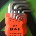 9'Lu Alyan Takımı Düz Çelik Alyan Takımı Set