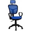 Bürocci Arya Fileli Çalışma Koltuğu-Mavi File - 2277B0542