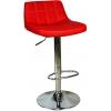 Boombar Barbara Bar Sandalyesi-Kırmızı Deri - 9521Q0116
