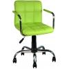 Bürocci Carla Çalışma Koltuğu-Yeşil Deri - 9503D0110