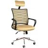 Bürocci Alisa Metal Ayaklı Ofis Koltuğu - Hardal - 2063D0544