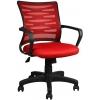 Bürocci Alisa Plastik Ayaklı Çalışma Koltuğu - Kırmızı - 2063B0545