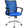 Bürocci Alisa Metal Ayaklı Çalışma Koltuğu - Mavi - 2063A0542