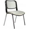 Bürocci Fileli Kromajlı Form Sandalye - Gri - 2016P0546