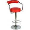 Boombar Monica Bar Sandalyesi - Kırmızı Deri - 9510Q0116