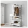 ELVARLI portmanto, beyaz, 125x40x216 cm
