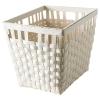 KNARRA sepet, beyaz, 38x29x30 cm